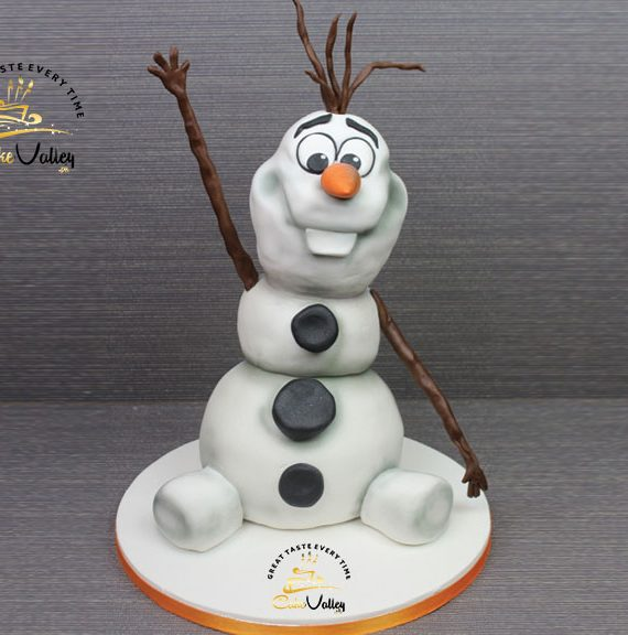 Olaf or Disney's Frozen cake