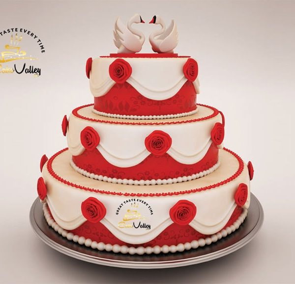 Best wedding 3D cake