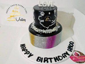 girls theme cake
