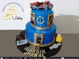 boy theme cake