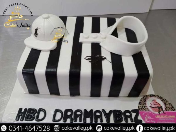 Polo Shirt Theme Cake for Boy or husband Birthday