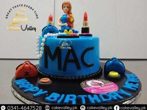 Make up kit cake design Birthday cakes for Girls