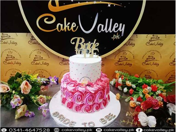 Bride to be cakes
