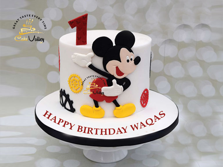 Mickey Mouse Cake Online Cake Order And Delivery In