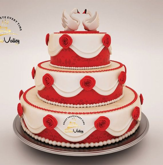 Best wedding 3D cake