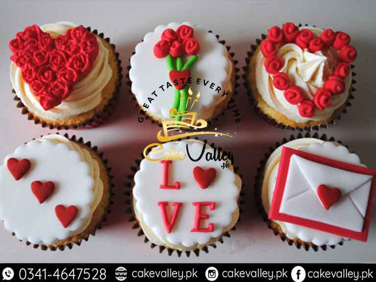 Cupcakes For Valentines Day Online Cake Order And