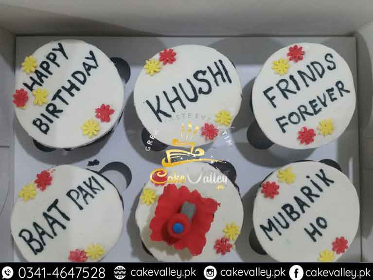 Cupcakes Online Cake Order And Delivery In Lahore Customize