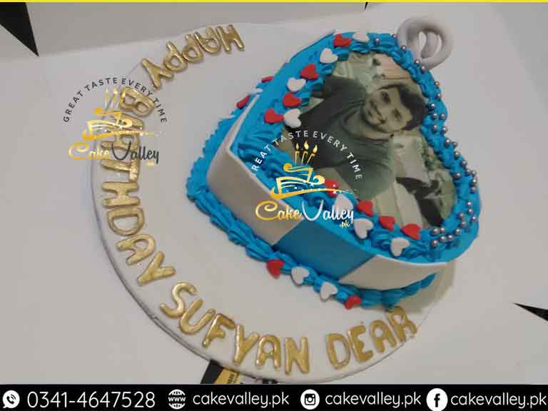 Printed Picture Cake In Lahore Edible Cakes