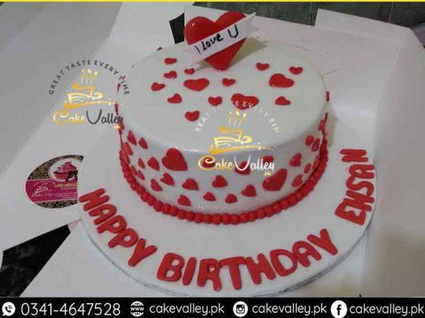 Best Anniversary Cake or Love theme cake