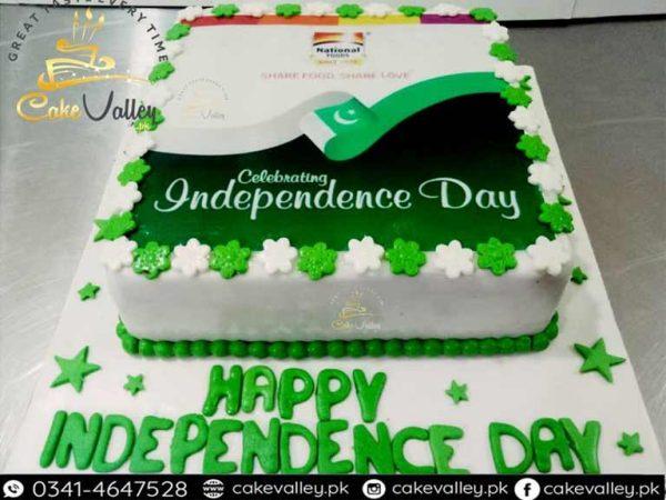logo print cake at 14 august