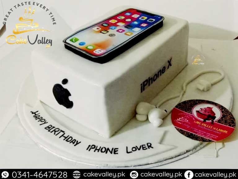 Tremendous Best Iphone Theme Cake At Cake Valley Online Cake Order And Funny Birthday Cards Online Aeocydamsfinfo