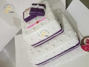 Anniversary Cake - Engagement Ceremony Cake