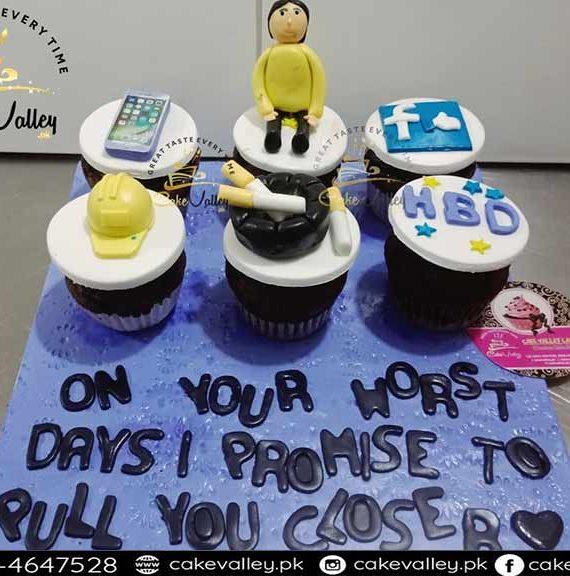 Best Birthday Cupcakes Boy theme Cupcakes