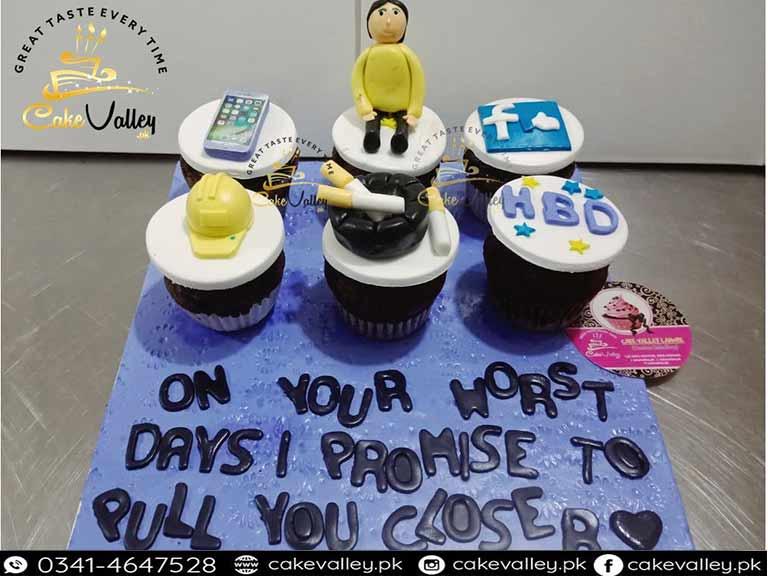 Best Birthday Cupcakes Boy Theme