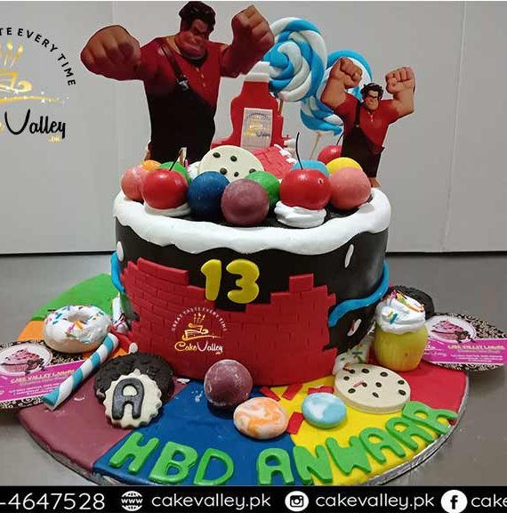wreck it ralph cake or Baby Birthday cakes