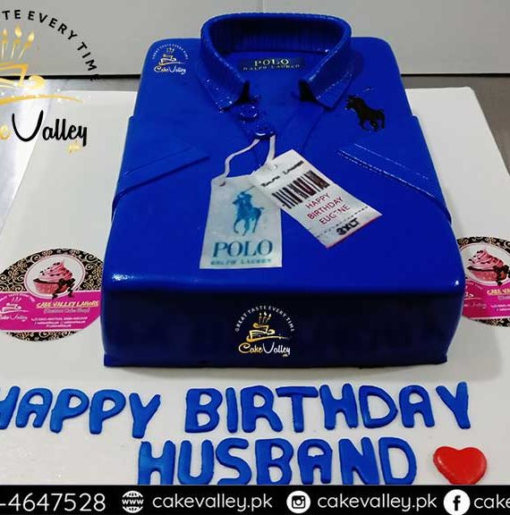 polo shirt cake design - Boy theme cakes