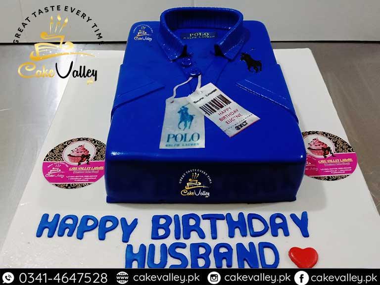 Polo Shirt Cake Design Boy Theme Cakes Online Cake Order And