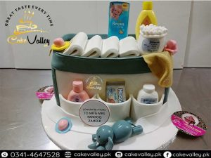 diaper bag baby shower cakes coming or New Born Baby Cake