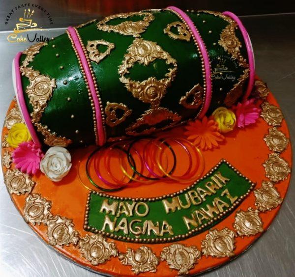 dholki cake in lahore