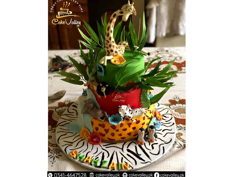 Animal Themed cake for Kids
