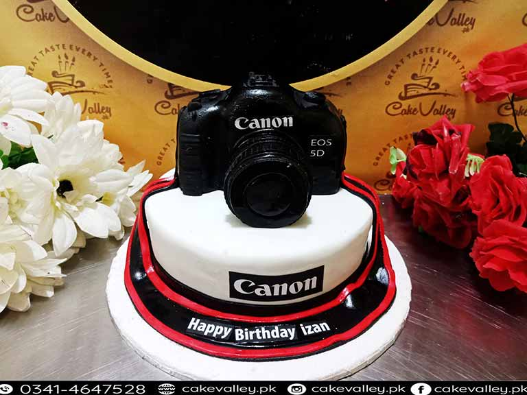 Awe Inspiring 3 D Camera Theme Cake In Lahore Pakistan Online Cake Order And Funny Birthday Cards Online Barepcheapnameinfo