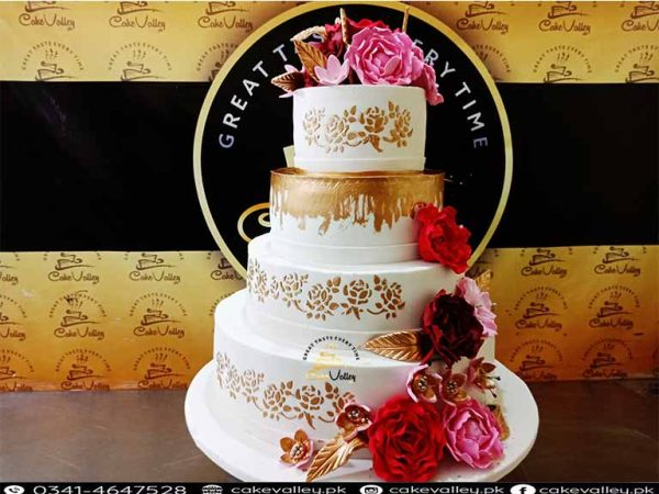 Best wedding cakes in lahore