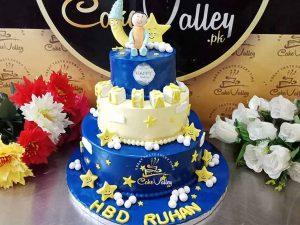 Twinkle Little Star Theme Cake For Kids Birthday