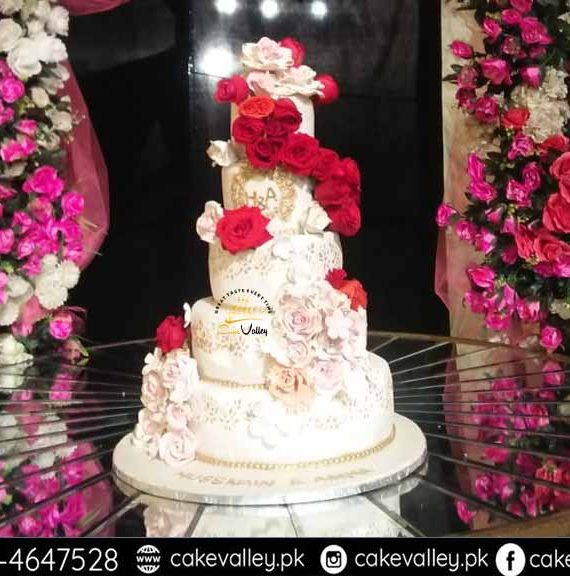 Best Wedding Themed Cake