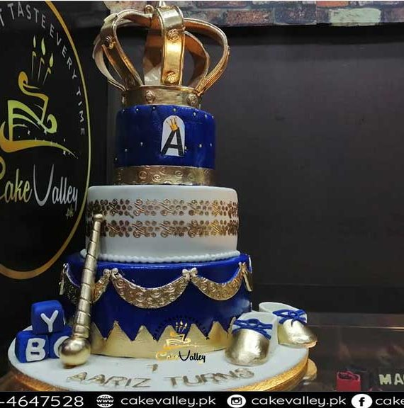 royal theme cake