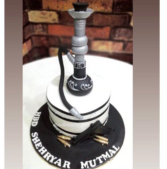 Shisha Lover Birthday Cake
